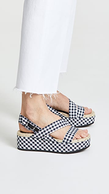 Rag & Bone Megan Platform Sandals