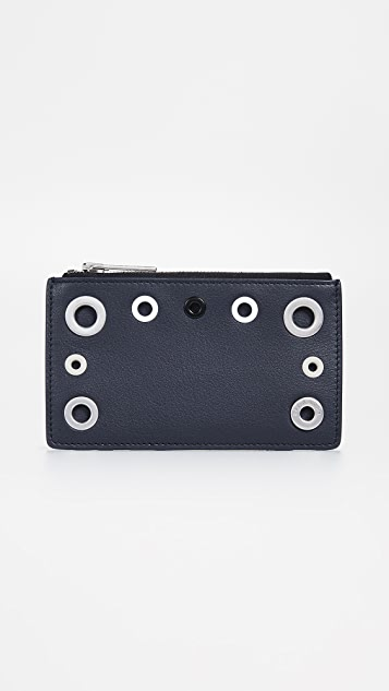 Rag & Bone Zip Card Case