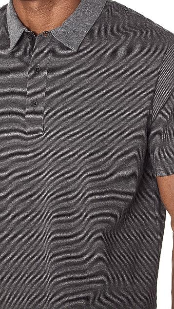Rag & Bone Classic Stripe Polo Shirt