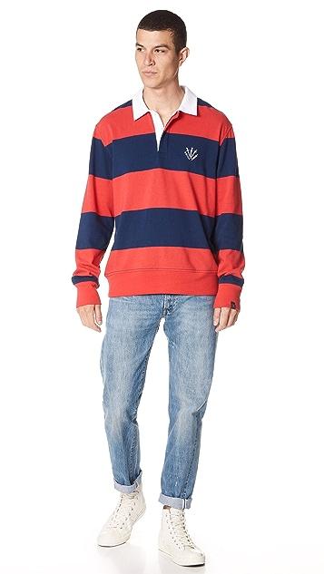 Rag & Bone Rugby Polo Shirt