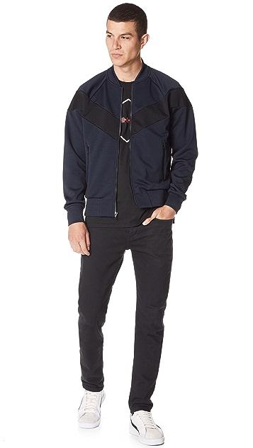 Rag & Bone Colorblock Bomber Jacket