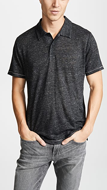 Rag & Bone Owen Linen Polo