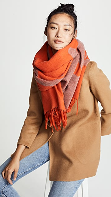 Classic Wool Graphic Scarf by Rag &Amp; Bone