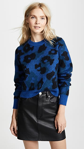 Rag & Bone Leopard Sweater