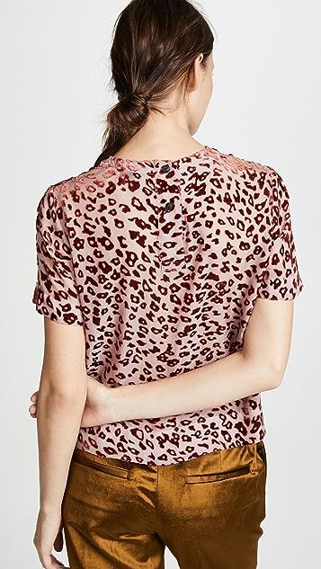 Rag & Bone Gia T-Shirt Blouse