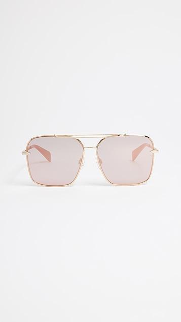 58aea2db117fa Rag   Bone Square Aviator Sunglasses