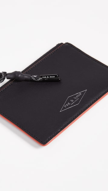 Rag & Bone Zipper Card Case
