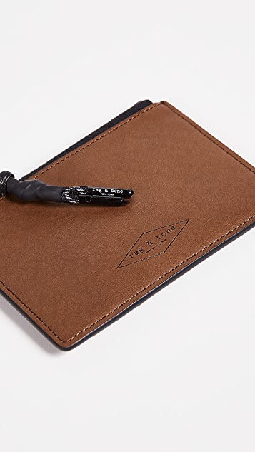 Rag & Bone Zipper Card Case