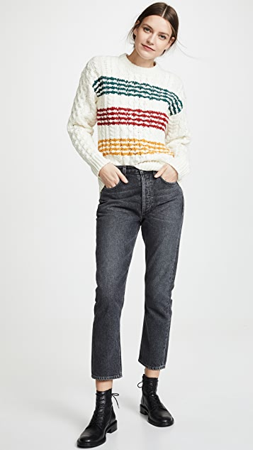 Rag & Bone Mindy Crew Neck Sweater