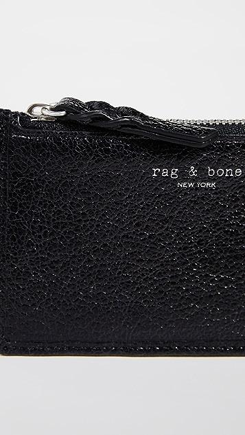 Rag & Bone Field Zip Card Case