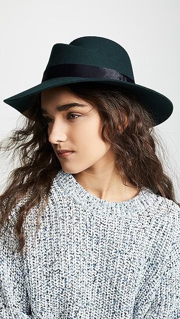 9f615853a8502 Rag   Bone Zoe Fedora Hat