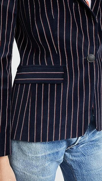 Rag & Bone Lexington Velvet Blazer