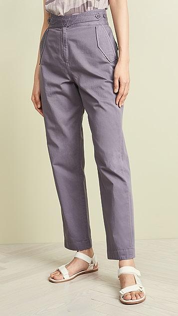 Rag & Bone Окрашенные брюки Mandy