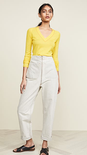 Rag & Bone Pamela V Neck Sweater