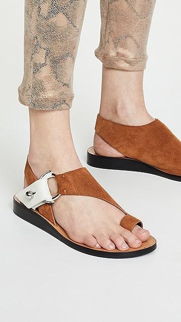 Rag & Bone Arc 平底凉鞋