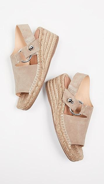 Rag & Bone Arc 编织底凉鞋