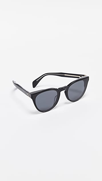 Rag & Bone Rounded Sunglasses