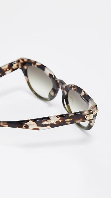 Rag & Bone Rounded Sunglasses