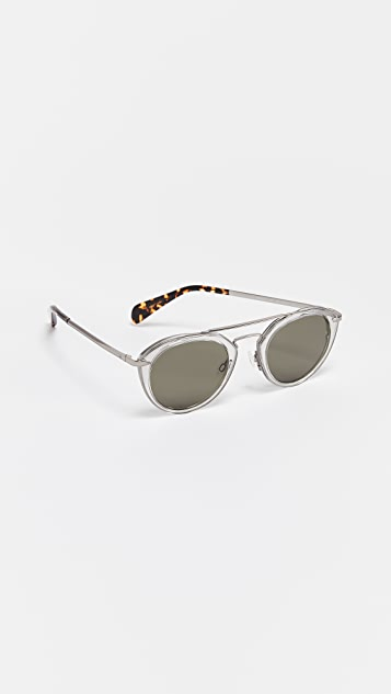 Rag & Bone Aviator Sunglasses
