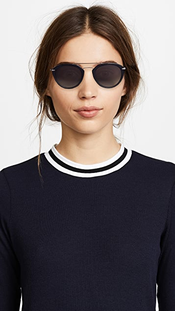 Rag & Bone Round Sunglasses