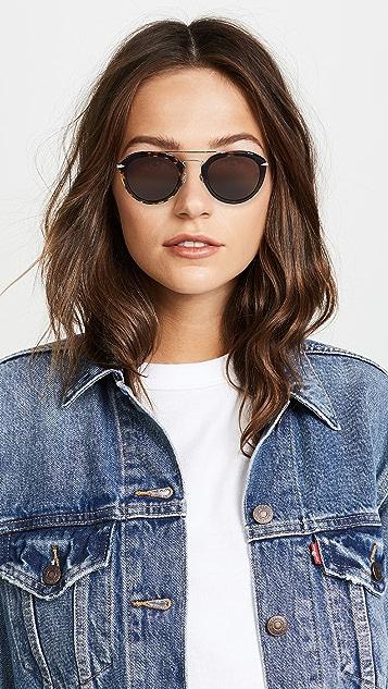 Rag & Bone Round Sunglasses