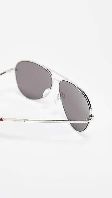 Rag & Bone Runway Aviator Sunglasses