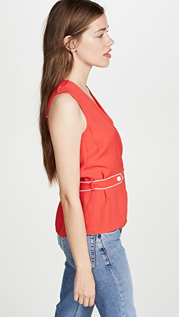 Rag & Bone Tabitha Sleeveless Top