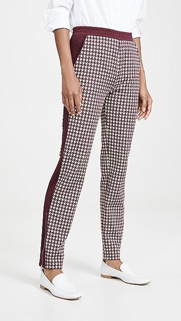 Rag & Bone Тренировочные брюки Mari с рисунком «гусиные лапки»