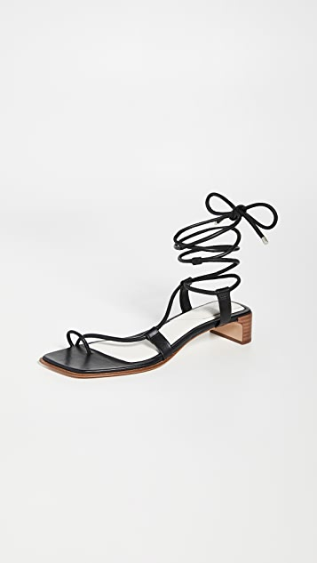 Rag & Bone Cindy Tie Sandals