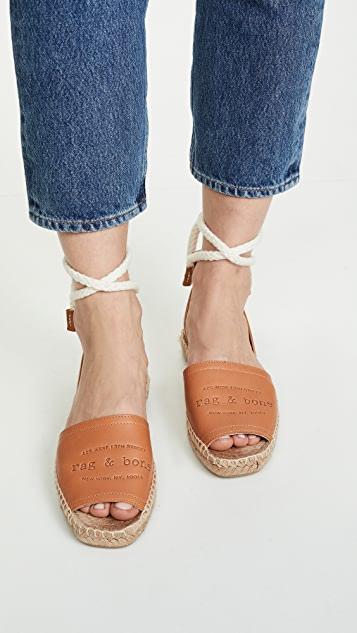 Rag & Bone Estelle Espadrille Sandals