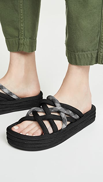 Rag & Bone Kris Espadrille Slide Sandals