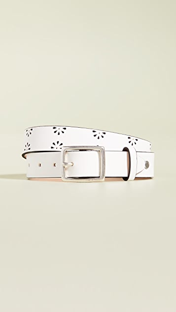 Rag & Bone Boyfriend Floral Belt