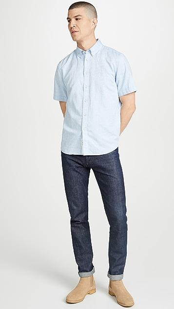 Rag & Bone Smith Short Sleeve Shirt