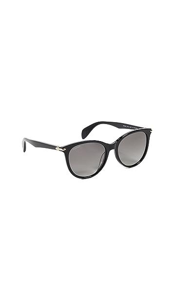 Rag & Bone Round Acetate Sunglasses