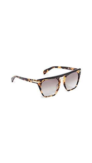 Rag & Bone Flat Top Sunglasses