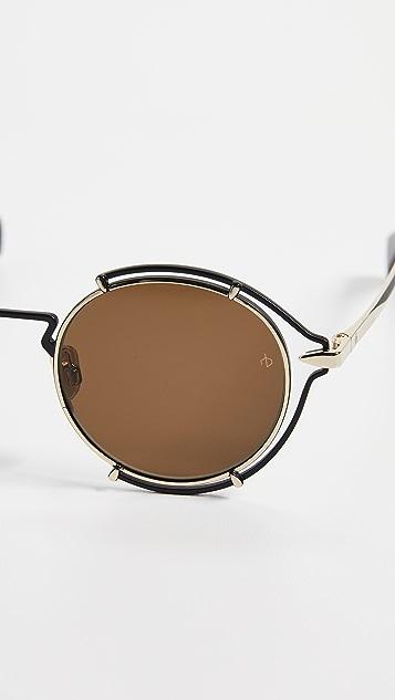 Rag & Bone Round Metal Sunglasses