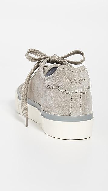 Rag & Bone 军旅风低帮运动鞋