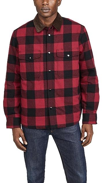 Rag & Bone Men's Plaid Padded Jack Shirt