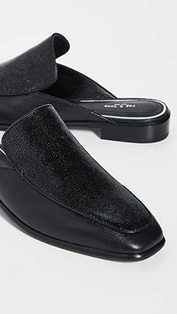 Rag & Bone Aslen Loafer Mules