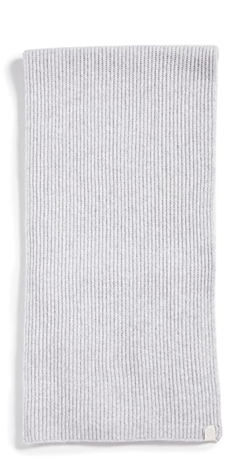 Rag and Bone Ace Cashmere Scarf - Heather Grey
