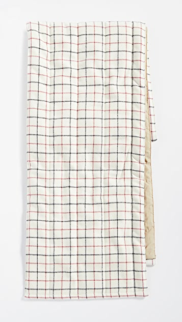 Rag & Bone Tattersal Down Scarf