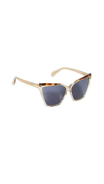 Rag & Bone Acetate Cat Eye Sunglasses