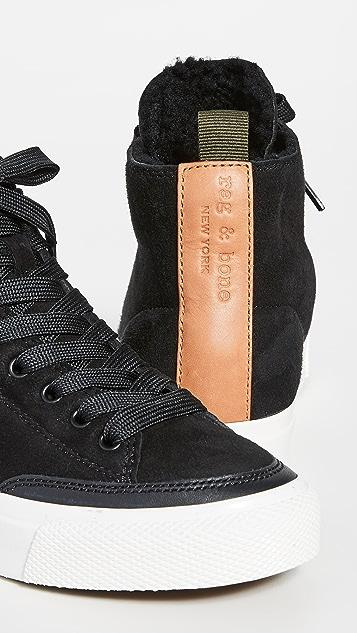 Rag & Bone Rb High Top Sneakers
