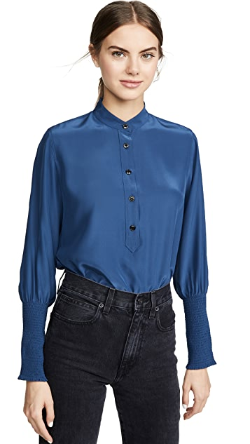 Rag & Bone Maris Popover 女式衬衫