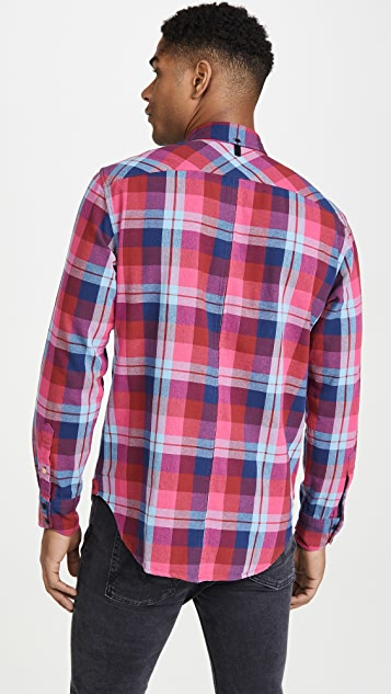 Rag & Bone Fit 2 Tomlin Plaid Button Down Shirt