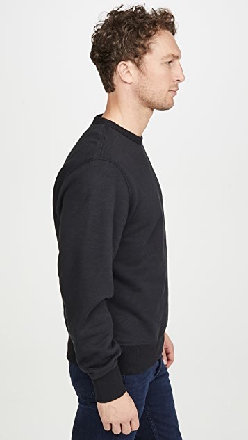 Rag & Bone Pizza Rat Crew Neck Sweatshirt