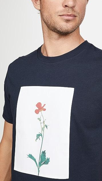 Rag & Bone Flower Print T-Shirt