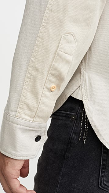 Rag & Bone Franklin Contrast Pocket Chore Coat