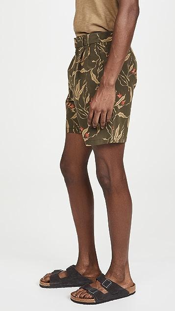 Rag & Bone Jackson Floral Shorts