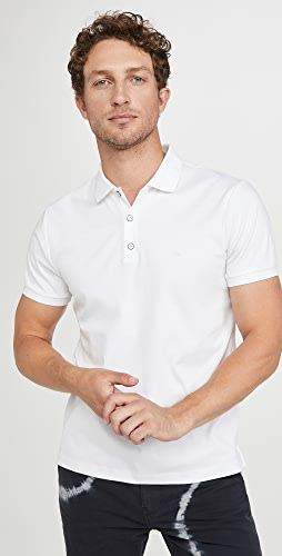 Rag & Bone - Short Sleeve Interlock Polo